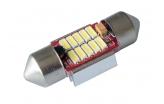 [LED autožárovka Sulfid C3W 31mm Canbus bílá 3rd Gen.]