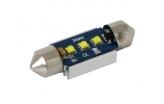 [High Power LED sulfid autožárovka C5W 36mm Canbus 15W]