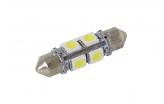 [LED autožárovka Sulfid C5W 36mm 360 ° bílá 2nd Gen.]