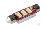 [LED autožárovka Sulfid C5W 36mm Canbus bílá 3rd Gen.]