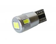 LED autožárovka T10 W5W Canbus bílá 3rd Gen.