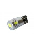 [LED autožárovka T10 W5W Canbus bílá 3rd Gen.]