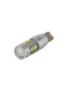 [High Power Cree with lens LED žárovka T10 W5W Canbus 80W]