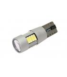 [LED autožárovka T10 W5W Canbus bílá 4th Gen.]